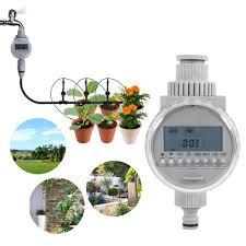 1Pc <b>LCD</b> Digital <b>Watering Timer</b> Solar Power <b>Garden Irrigation</b> ...