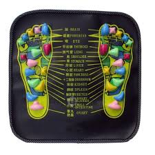 Walk Stone <b>Massager Mat</b> Apparatus Foot <b>Acupressure Cushion</b>