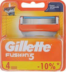 <b>Сменные Кассеты Gillette Fusion5</b> Для Мужской Бритвы, 4 шт ...