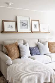the picket fence projects family room follow up our diy picture ledge big living room couches