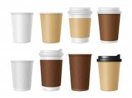 Одноразовая <b>кофейная</b> чашка, заготовка горячего кофе, <b>белая</b> ...