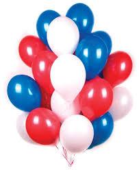 <b>Набор воздушных шаров Поиск</b> Триколор (30 шт.)
