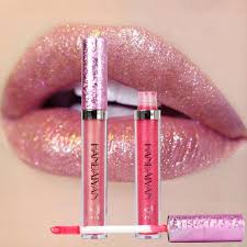Makeup <b>HANDAIYAN Diamond</b> Shine Metallic <b>Lipstick</b> Charming ...