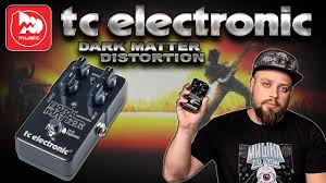<b>TC ELECTRONIC</b> Dark Matter Distortion - злая <b>педаль</b> дисторшн ...