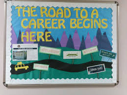 17 best ideas about career bulletin boards the road to a career begins here the many campus resources available for career development great element using sticks via leah in burton hall more