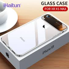 iHaitun <b>Luxury</b> Lens Glass Case For iPhone XS MAX XR Cases ...