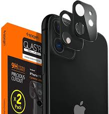 Spigen <b>Camera Lens Protector</b> Black for iPhone 11-2 Pack: Amazon.in