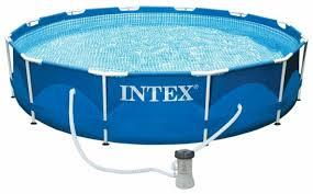Бассейн <b>Intex Metal Frame</b> 28212/56996 — купить по выгодной ...