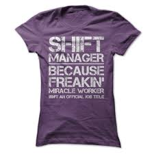 manager job title shift manager job title