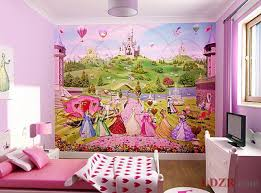 room elegant wallpaper bedroom: children room wallpaper with princess themes home design and ideas inside elegant pink and purple bedrooms