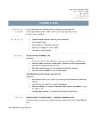 security officer resume tips templates and samples security officer resume build security resume