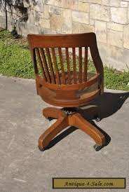 vintage milwaukee chair co antique oak wood swivel desk office lawyer chair for sale antique oak office chair