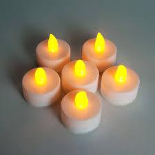 Купить <b>Набор декоративных свечей</b> Feron FL077 c янтарной LED ...