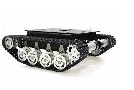 Metal Robot <b>Track</b> Car <b>Tank</b> Chassis for Caterpillar <b>Suspension</b> ...