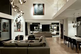 ceiling light high lighting trendy open concept family room in auckland with white walls and awesome family room lighting ideas