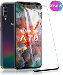 SCL Samsung Galaxy A70 Screen Protector, <b>3D Curved Full</b> ...