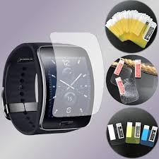 <b>2PCS HD Screen Protector</b> Glass Film For Galaxy Gear S R750 ...