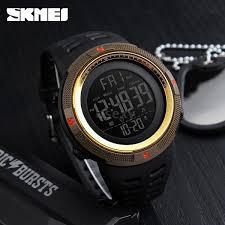 2019 SKMEI New Fashion <b>Men Sports Watches Casual</b> LED Digital ...