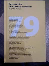 books i want christapher mcelheney 79 short essays on design