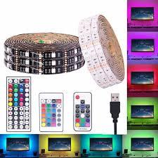 <b>USB RGB LED</b> Strip Waterproof <b>5V</b> 5050 SMD <b>RGB USB LED</b> Strip ...
