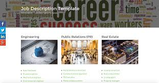 employers we got most categories and job types in our job description template database