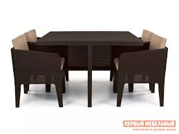 <b>Комплект</b> плетеной <b>мебели Keter Columbia</b> set 5 pcs 17202279 ...