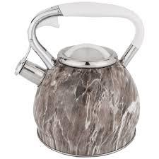 <b>Чайник 3л нерж</b>/<b>сталь</b> со свистком МВ (28201) по цене 1 349 ...