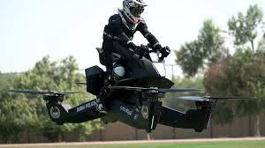 <b>Dubai police</b> begin to test hoverbike patrol units