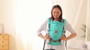 Эрго-<b>рюкзак</b> с рождения ONE - Спереди с параллельными лямками