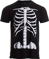 Skeleton Rib Cage | Jumbo Print Novelty Halloween ... - Amazon.com
