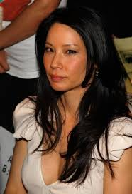 Foto : Lucy Liu Blue Old South Dress Golden Globes Warner Brothers Instil After Party Januar - lucy-liu-1407697181
