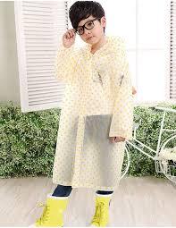 <b>Дождевик</b> в горошек <b>детский</b> универсальный размер, жёлтый