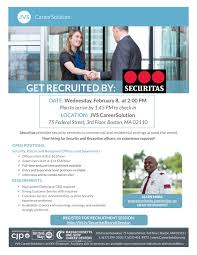 get recruited by securitas job search skills get recruited by securitas