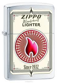 """Купить <b>Зажигалка Zippo</b> """"<b>Classic</b> Brushed Chrome"""". 28831 в ..."""