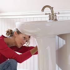How to Install a Pedestal Sink - The <b>Home</b> Depot