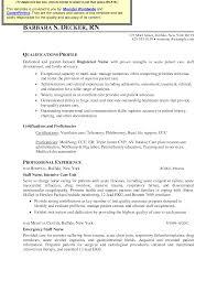 sample care nurse resume  seangarrette co  icu registered nurse resume sample   sample care nurse resume