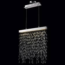 fabulous crystal hanging chandelier nulco lighting 820382 chalfont pendant linear chandelier chic crystal hanging chandelier furniture hanging