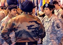 u s  department of defense  photo essay     u s  army cpl  balreet kaur and spc  jasleen kaur  india born sisters