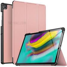 <b>Tri</b>-<b>fold Stand</b> Leather Smart <b>Case for</b> Samsung Galaxy Tab S5e SM ...