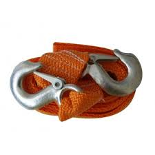 <b>Буксировочный трос</b> SKYBEAR <b>PRO 5 т</b>, 2 крюка, 4 метра (лента ...