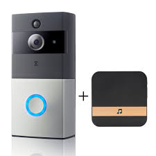 Wireless <b>WiFi DoorBell Smart</b> Video Phone Door Visual Ring ...