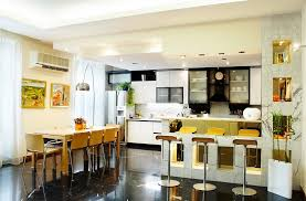 Kitchen And Dining Room Design Kitchen Dining And Living Room Design Home Design Ideas