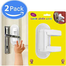 New Door Lever Lock (2 Pack) Child Proof - Baby ... - Amazon.com