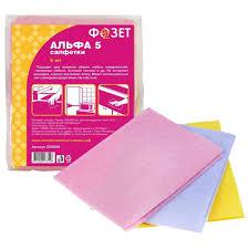 <b>Салфетки для уборки</b> Dobb&Mopp Альфа-<b>5</b> 25х30 см в Самаре ...