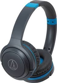 <b>Гарнитура</b> Audio-Technica ATH-S200BT <b>Gray</b>/Blue купить ...