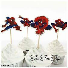 <b>spiderman</b> cupcake toppers products for sale | eBay