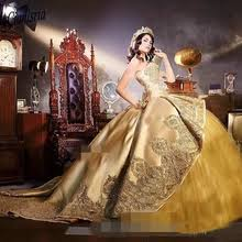 bealegantom new 2019 gold lace quinceanera dresses ball gown crystals up vestido de debutante sweet 16 party dress qa1467