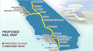 Image result for high speed rail, California picture