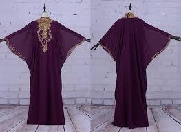 <b>Sexy Muslim Arabic Long</b> Prom Evening Dresses Chiffon Purple ...