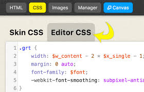 Thesis Editor CSS tab DIYthemes
